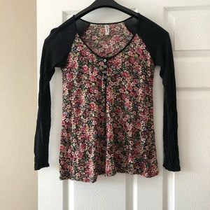 Free people flower Henley XS